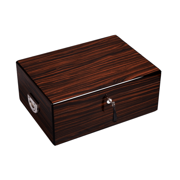 Diamond Crown Alexander Cigar Humidor 160 Count Box Closed