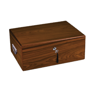 Diamond Crown Drake Cigar Humidor 160 Count Box Closed