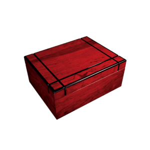 Highlander Cigar Humidor Box Closed