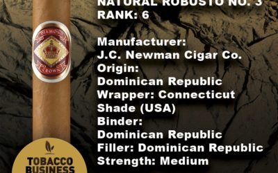 Diamond Crown Received No. 6 from Tobacco Business