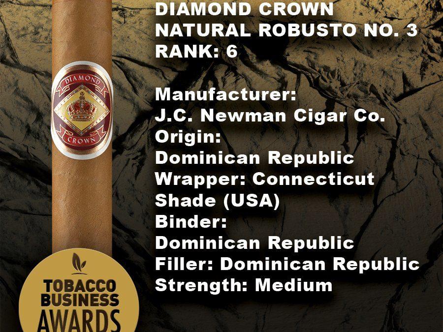 Tobacco Business Awards Diamond Crown Graphic