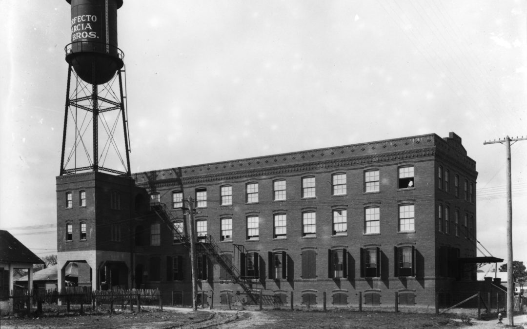 perfecto garcia factory black and white 1914 water tower factory